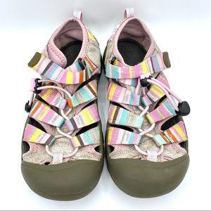 4/$25 KEEN Pastel Stripe Newport H2 Water Sandals